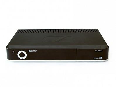 Двухтюнерный спутниковый приемник + IP-сервер GS E502 фото 0