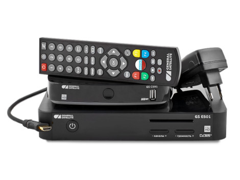Триколор комплект оборудования на 2 телевизора с игровой консолью GS GAMEKIT фото 0