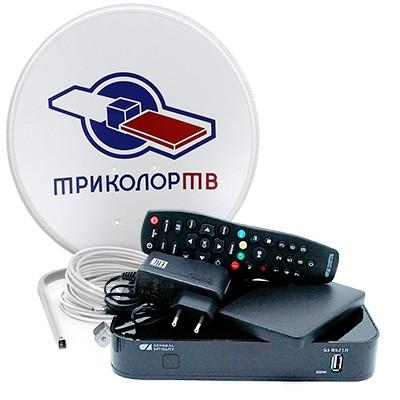Комплект для приема «Триколор ТВ» с двухтюнерным приёмником и HDD на 500 ГБ в рассрочку на 25 месяцев! фото 0
