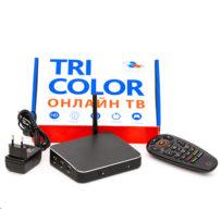 Интерактивный интернет-приемник GS AC790 + год подписки на услугу «Триколор Онлайн»